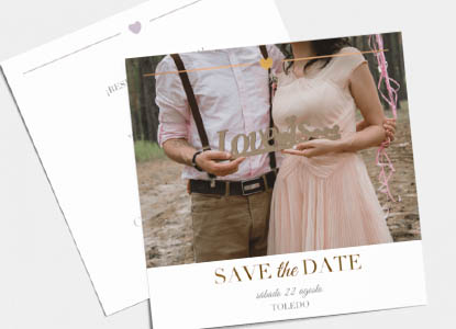Tarjetas Save the Date