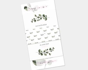 Leafy - Invitación de boda - Conjunto