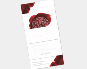 Flower of Life - Invitación de boda - Conjunto